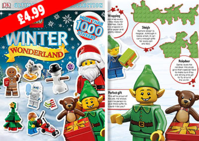 Winter Wonderland Lego Sticker Book