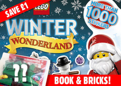 Lego Sticker Book & Lucky Dip Brick Set
