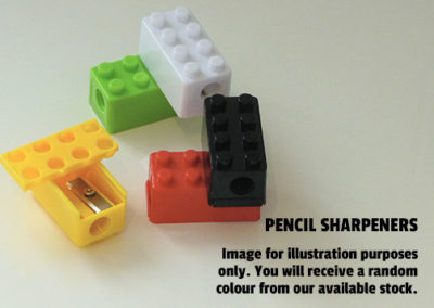 Party Bag Fillers Brick Pencil Sharpener