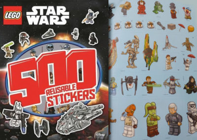 Lego Star Wars Activity Book 500 Stickers