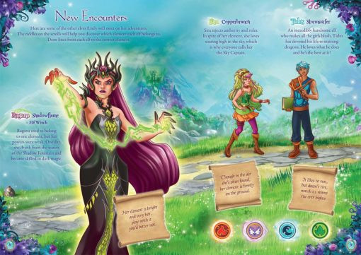Lego Elves Activity Book inside page