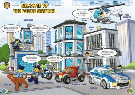 Lego City Activity Book Police puzzles