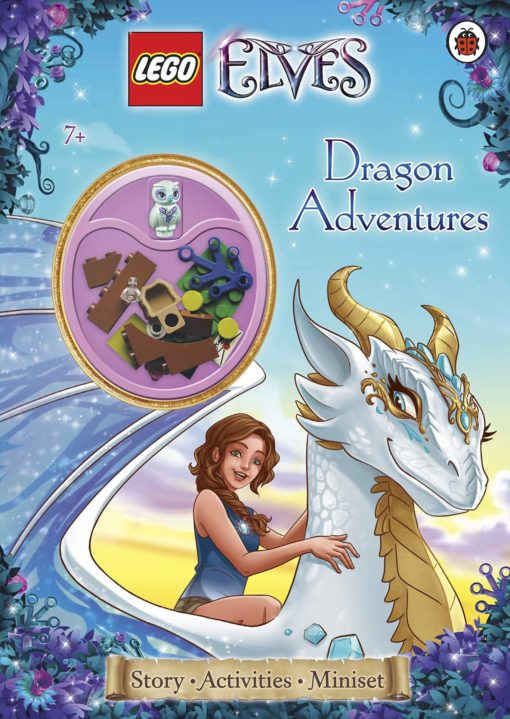 LEGO Elves Dragon Adventures cover with lego miniset