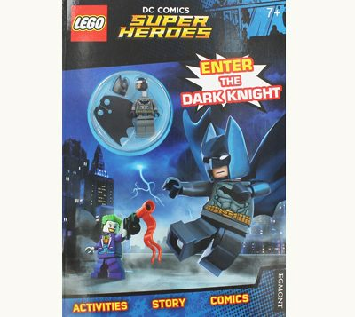 Front cover of Lego DC Comics Super Hero - Batman Mini Figure Activity Book