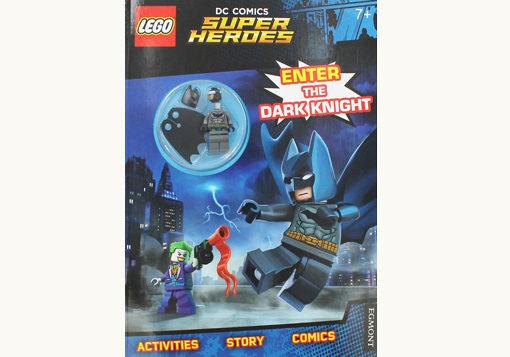 Front cover of Lego DC Comics Super Hero - Batman Mini Figure Activity Book