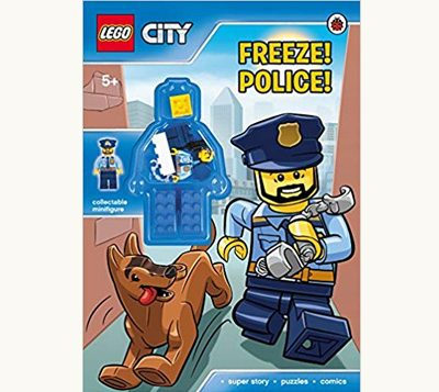 Lego City Activity Book Police Freeze