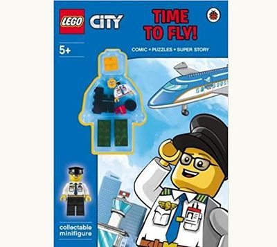 Lego City Time to Fly book Cover