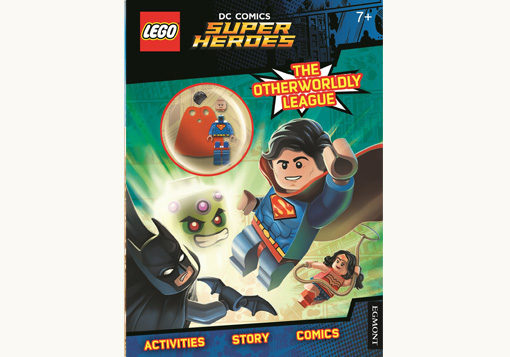 Front Cover of Lego DC Comics Super Hero - Superman Mini Figure Activity Book