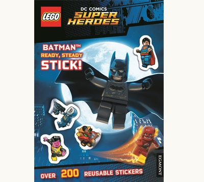 Front cover of Lego DC Comics Super Heroes - Batman Ready Steady Stick