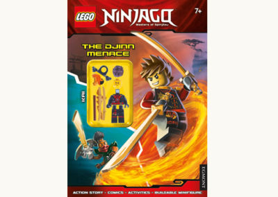 Lego Ninjago:  The Djinn Menace (Activity Book with Minifigure)