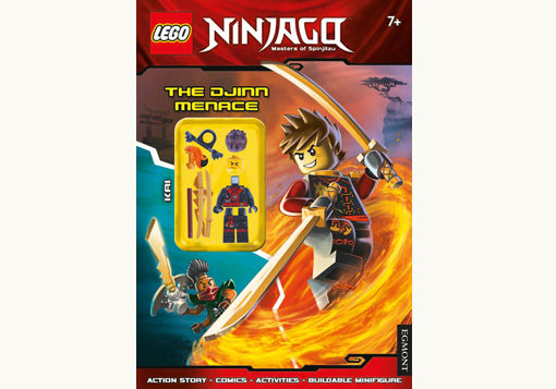 Front cover of LEGO Activity Book Lego Ninjago