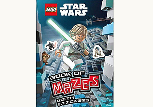 Front Cover of Lego Star Wars Book of Mazes