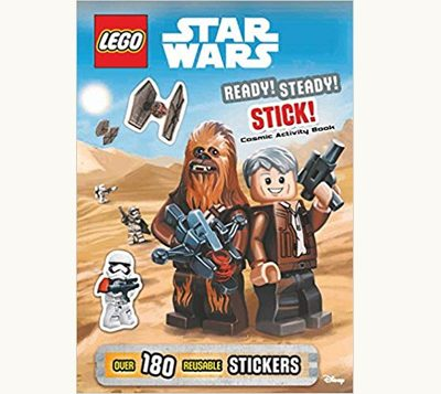 Front cover of Lego Star Wars Cosmic Activity Book