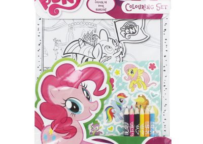 My Little Pony Colouring Set and Colouring Book