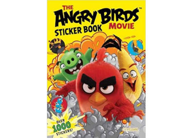 Angry Birds Movie Sticker book