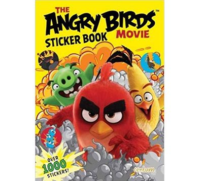 angry birds sticker book