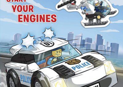 Lego City – Start Your Engines Sticker Book