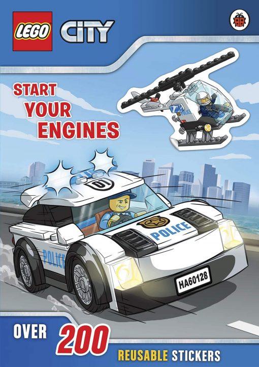 Lego city sticker book cover
