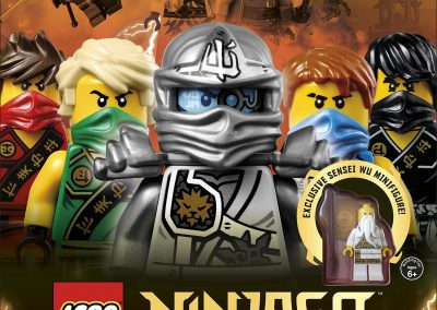 Lego Ninjago-Secret World of the Ninja (Includes Minifigure)