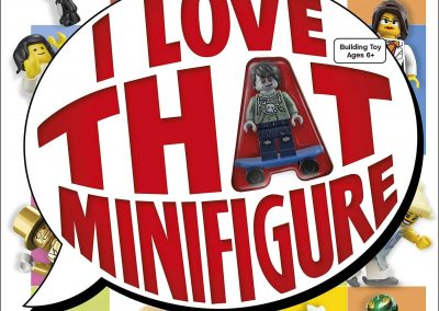 Lego – I Love That Minifigure Book Set (Includes Minifigure)