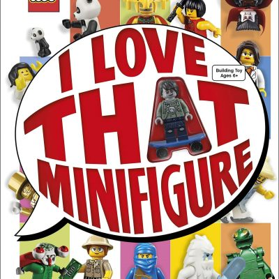 Image of I love that minifigure book