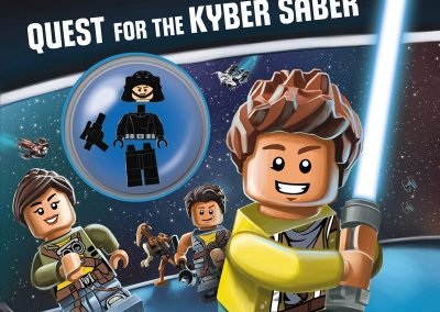 Lego Star Wars – Quest for the Kyber Saber (Includes Minifigure)