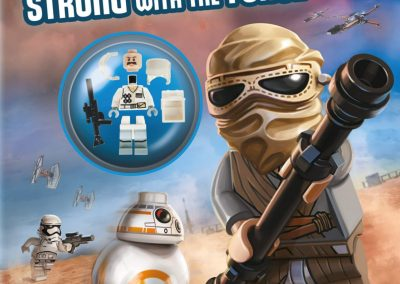 Lego Star Wars – Strong with the Force activity book (Includes Minifigure)
