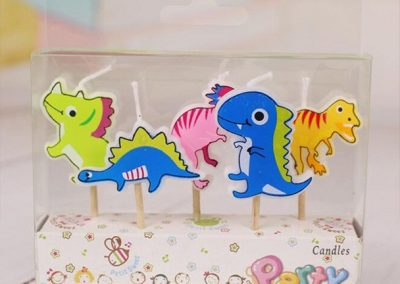 Dinosaur Party Candles