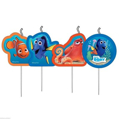 4 finding dory party candles