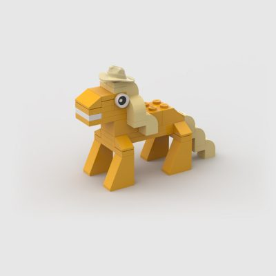 Moc Lego Applejack my little pony
