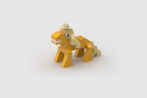 Moc Lego Applejack my little pony