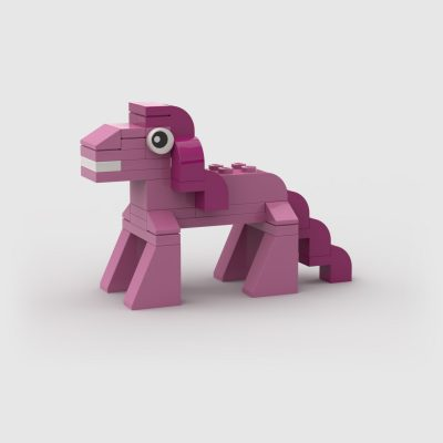 My Little Pony Pinkie Pie MOC lego build