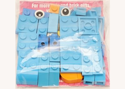Rainbow dash packet rear