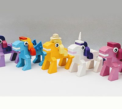 brick moc lego range my little pony mini build