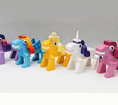 brick moc lego range my little pony mini build