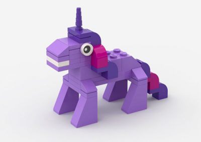 brick moc lego twilight sparkle my little pony mini build