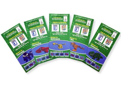 Dinosaurs – Downloadable Instruction Sheets