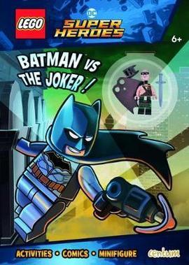 Lego Super Heroes Batman Vs Joker Activity Book