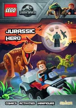 Lego Jurassic World Jurassic Hero Activity Book