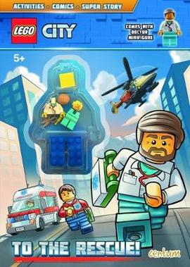 Lego City To The Rescue Activity Book