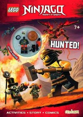 Lego Ninjago Hunted Activity Book